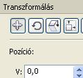 A transzformálás dokkoló