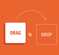 10.8. Drag and drop, vagyis a fogd és vidd műveletek