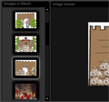 Képnézegető készítése weboldalra