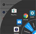 Lazy Swipe - alkalmazások indítása rendkívül egyszerűen