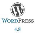 WordPress 4.8 bemutató