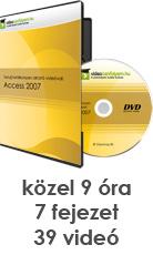 Tanulj hatékonyan oktató videóval: Access 2007