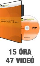 Tanulj hatékonyan oktató videóval: Adobe Illustrator, 1-2. rész