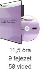 Tanulj hatékonyan oktató videóval: Adobe Premiere