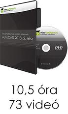 Tanulj hatékonyan oktató videóval: AutoCAD 2013, 2. rész