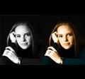 Fekete-fehérből színes kép egy kattintással