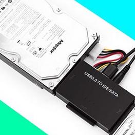 Gocomma SATA, IDE > USB3 átalakító teszt