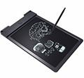 LCD rajz és jegyzet és üzenet tábla