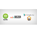 Deezer, Spotify, Play Music vagy Apple Music?