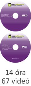 Tanulj hatékonyan oktató videóval: adatbázis alapú programok fejlesztése C#-al, 1-2. rész