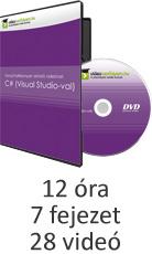 Tanulj hatékonyan oktató videóval: C# (Visual Studio-val)
