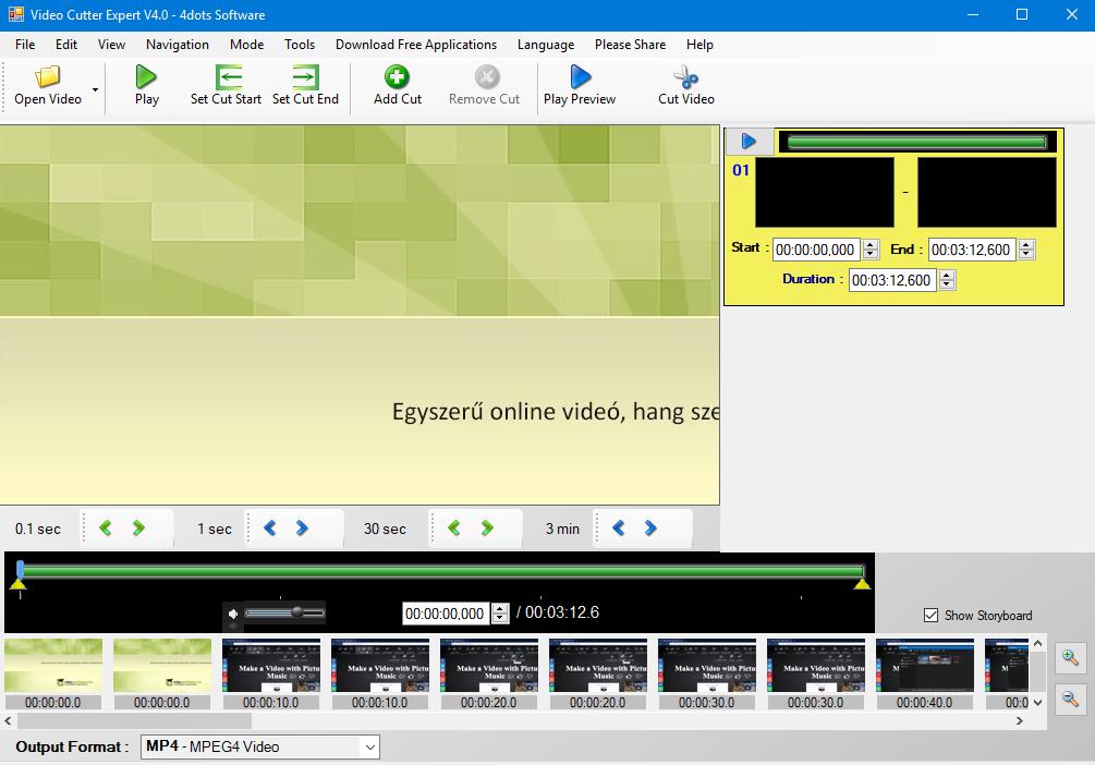 V DC tápellátás (a videójel UTP kábelen, a táp külön tápkábelen keresztül): a.