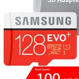 Samsung EVO PLUS U3 memóriakártya