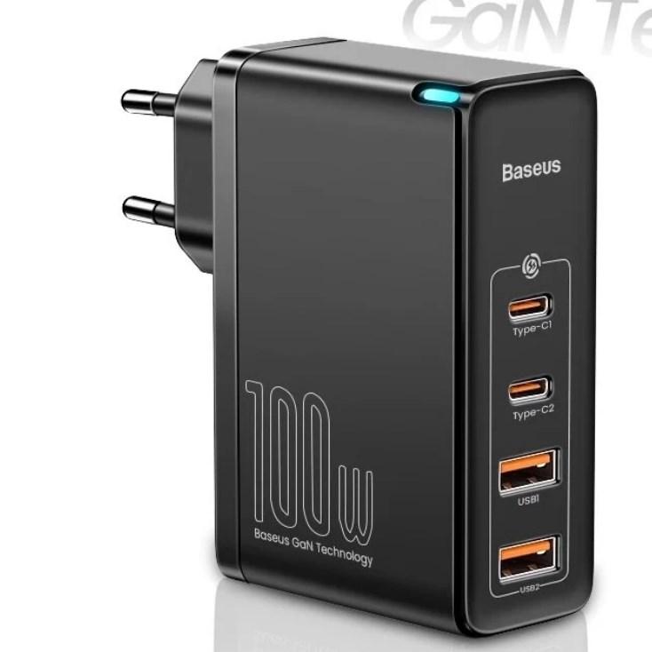 Baseus GaN2 Pro 100W töltő adapter