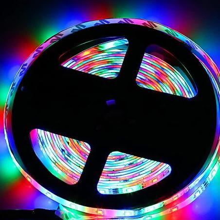 5 méteres LED szalag, távirányítóval
