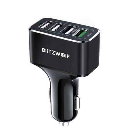 BlitzWolf 4 portos autós gyorstöltő