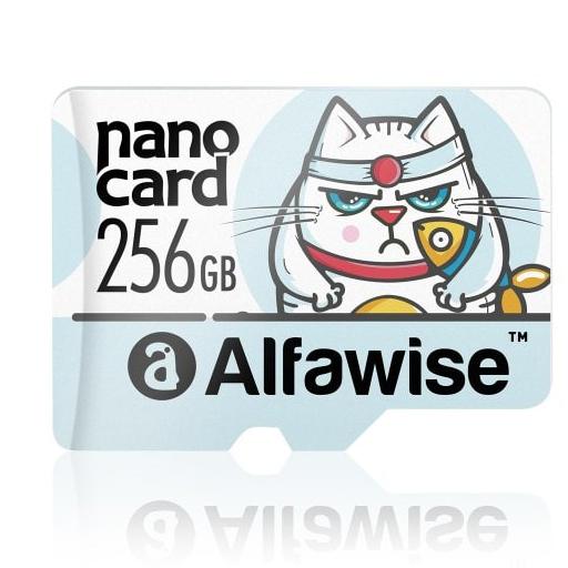 256GB-os, gyors microSD memóriakártya