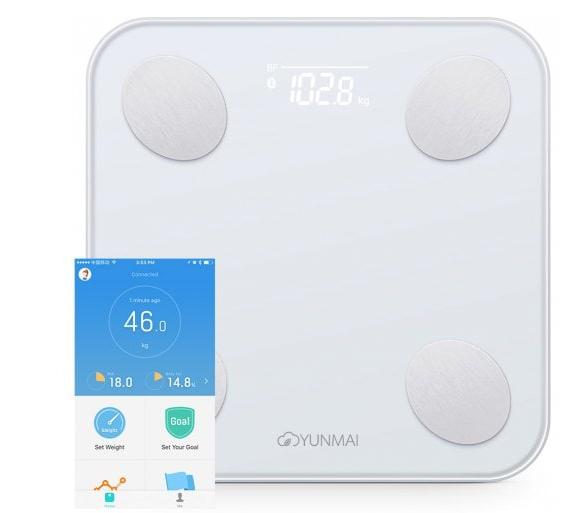 Xiaomi YUNMAI Mini 2 okosmérleg