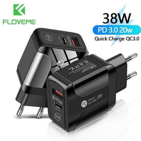 Floveme 20W-os gyorstöltő