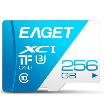 EAGET gyors, 256GB-os microSD memóriakártya