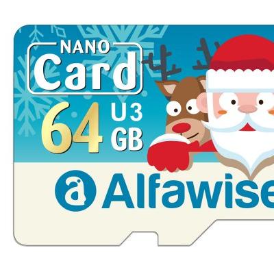 64GB-os, gyors microSD memóriakártya