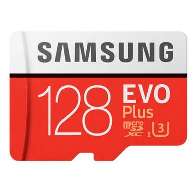 Samsung 128GB-os, gyors microSD memóriakártya
