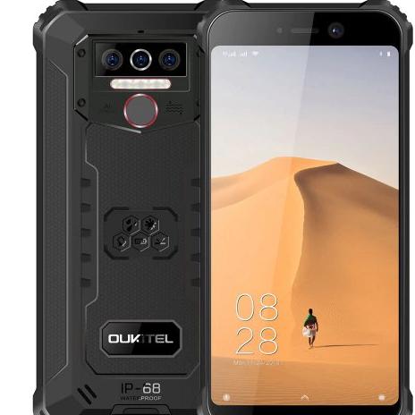 OUKITEL WP5 - három kamerás strapabíró, vízálló telefon olcsón