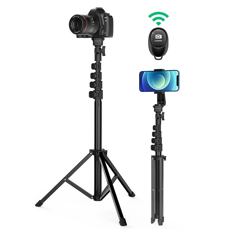BlitzWolf BW-STB1 tripod telefonhoz, fényképezőgéphez