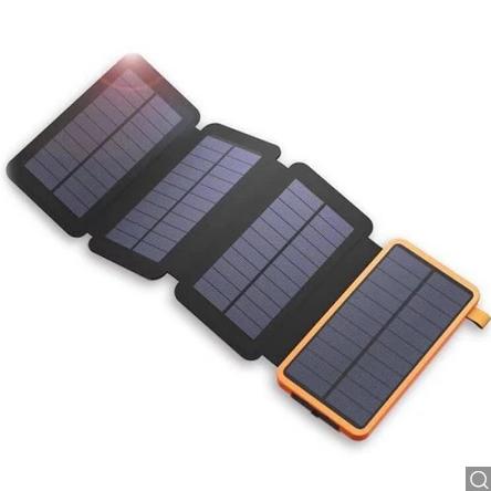 25000mAh kapacitású, napelemes power bank