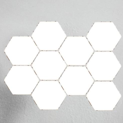 Szabadon alakítható hatszög fény modulok