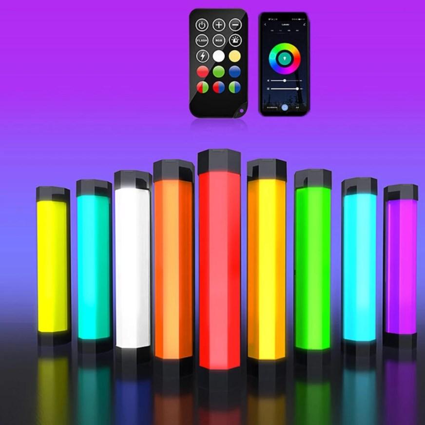 Luxceo P200 okos RGB fényrúd, beépített akkumulátorral