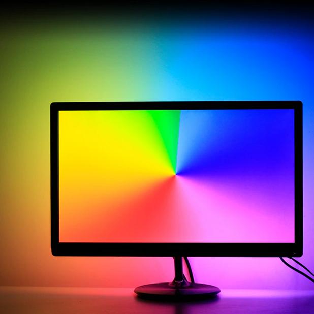 Ambilight - monitor, TV háttérvilágítás olcsón