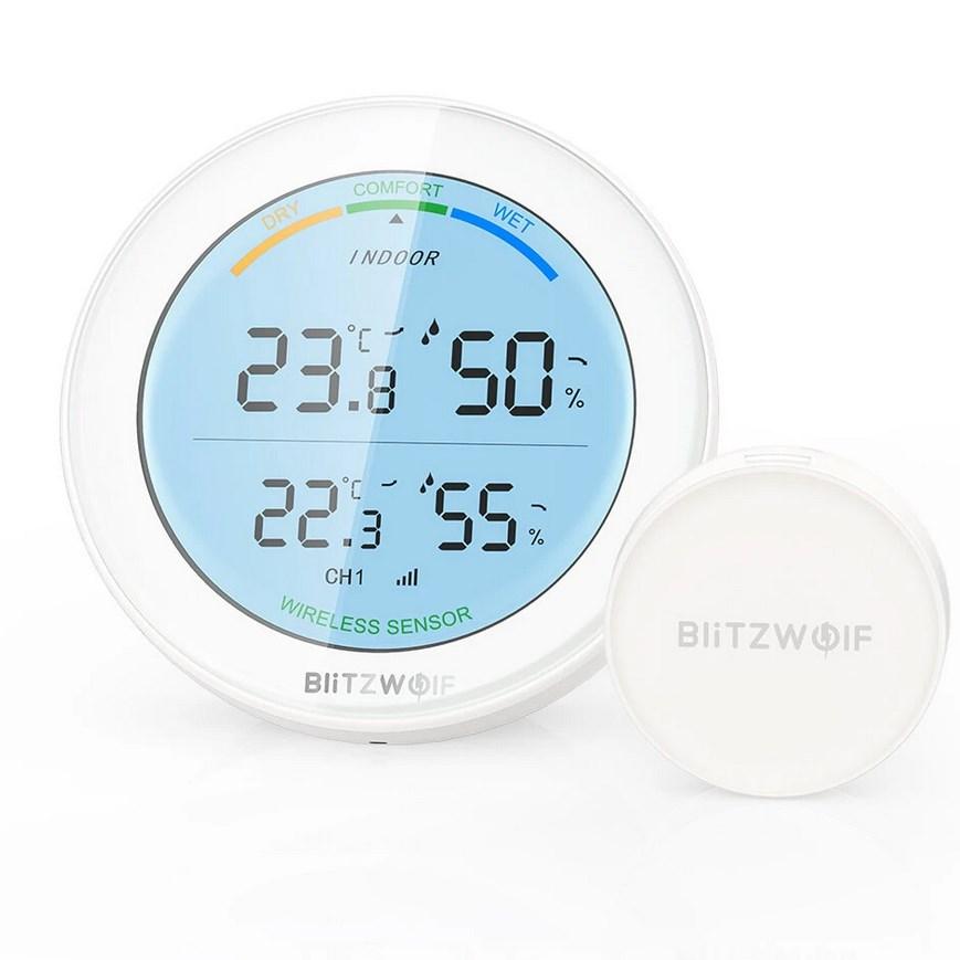 BlitzWolf BW-WS01 hő és páratartalom mérő készlet