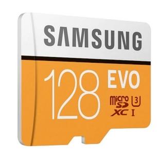 SAMSUNG EVO microSD memóriakártya - 128GB