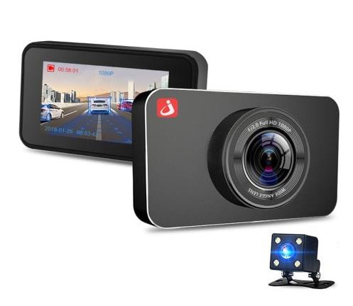 Junsun H9 autós, menetrögzítő kamera, tolatókamerával