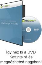 Tanulj hatékonyan oktató videóval: Java programozás