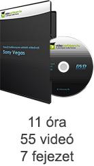 Tanulj hatékonyan oktató videóval: Sony Vegas