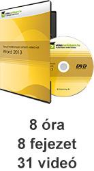 Tanulj hatékonyan oktató videóval: Word 2013 - profi, látványos dokumentumok